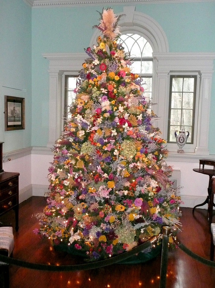 Decorating A Tree For Christmas
