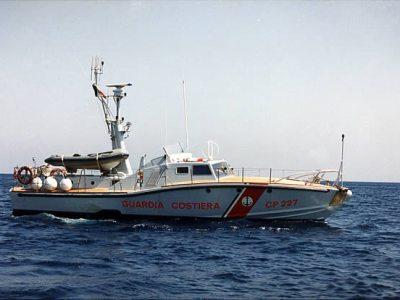 CP 227 Guardia Costiera disegno Renato Levi costruzione Canav di Anzio