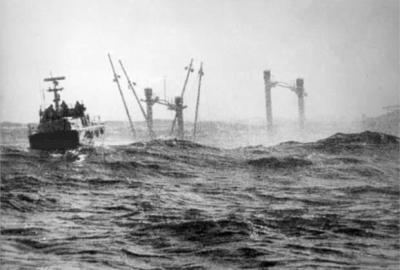 CP 233 Super Speranza_salvataggio vite umana nelle acque di Genova del 9 aprile 1970