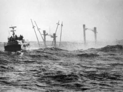 CP 233 Super Speranza salvataggio vite umana nelle acque di Genova del 9 aprile 1970
