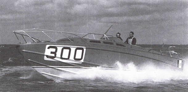 Barca classica Offshore Speranzella II