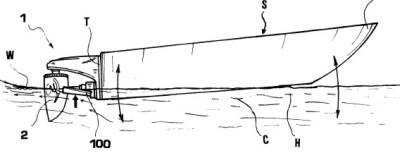 Boomex - barca in movimento prima di iniziare a planare
