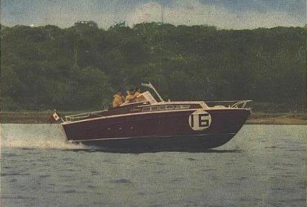 A' Speranziella vincitrice della Cowes Torquay del 1963