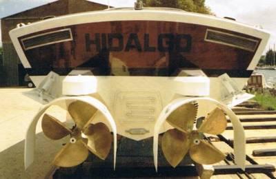 Hidalgo-Specchio di poppa equipaggiato con gruppi Levi Drive Unit