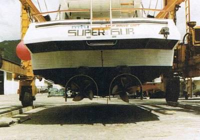 Pleasure boat 10,05 m