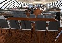 RW 100: il Super yacht del futuro - Gli interni