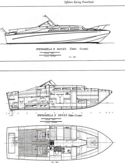 Disegni Speranzella II Cabin Cruiser