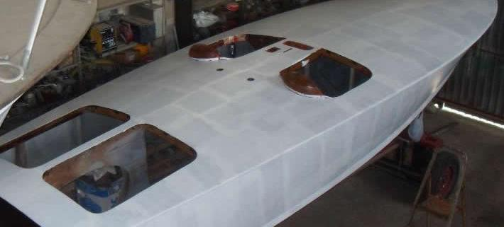 Restauro barca Offshore Budda Special