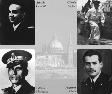 aristide-carabelli-giorgio-giobbe-francesco-Costavittorio-moccagatta-