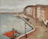 Albert Marquet Les maisons du port