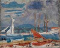 Pierre Bonnard Le port de Saint Tropez