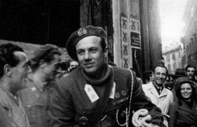 Borghese comandante Xª MAS Milano 1944