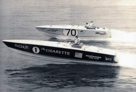 The Cigarette il Magnum 28' prototipo di tutti i Cigarette a venire