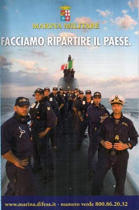 MARINA MILITARE  FACCIAMO RIPARTIRE IL PAESE