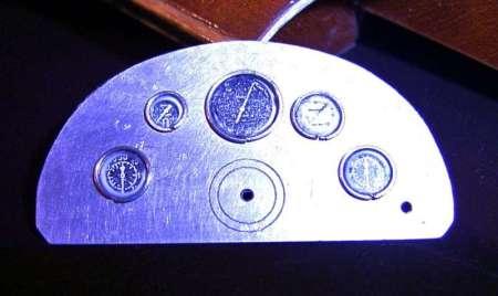Arno Timossi Ferrari quadro strumenti