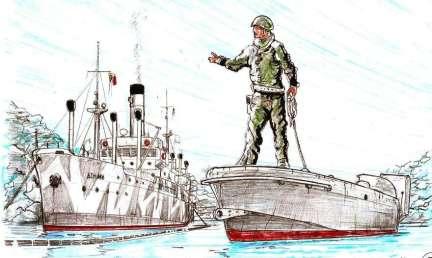Nave Asmara - barchino esplosivo MT2