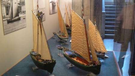 Il Museo dedica ampie sale con ricchi e dettagliati modelli alle barche da pesca ed alla navigazione fluviale