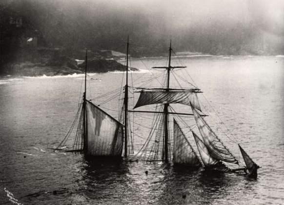 The Mildred, naufragata il 6 aprile 1912