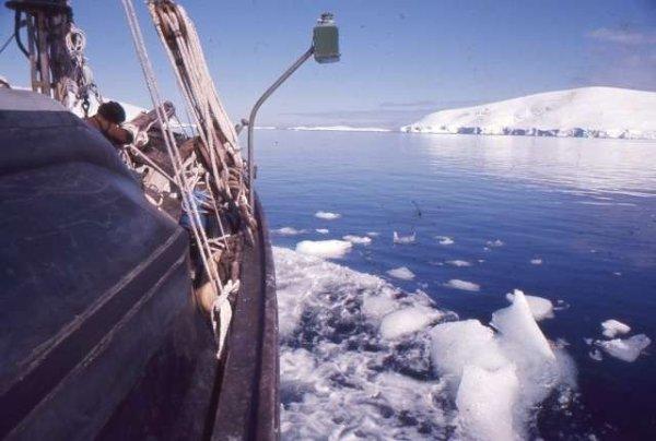 San Giuseppe Due in navigazione in Antartide