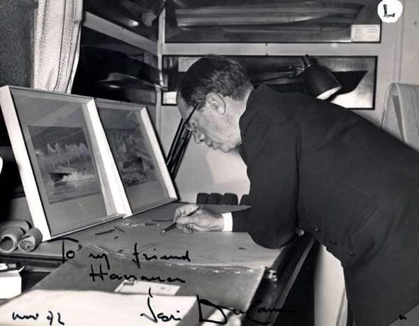 Peter Du Cane: dedica a Franco Harrauer