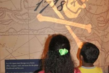 Kids with exhibit name