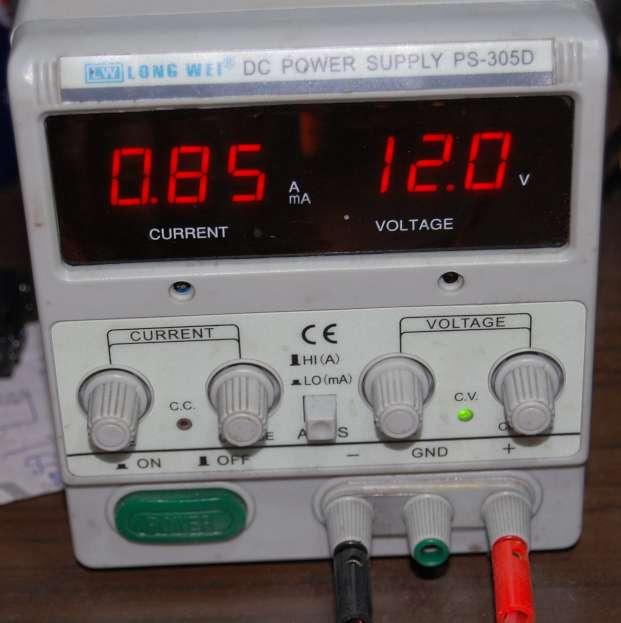 Lampada led 12 - 35Vassorbimento rilevato: 0,03 A/h