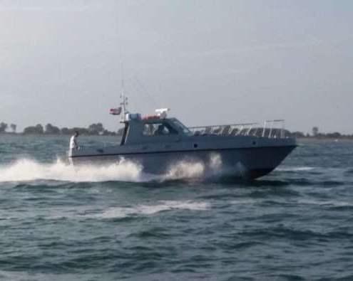 Restauro ex motovedetta V5572 gdf
