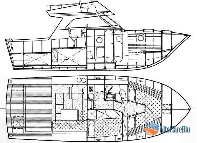 Barca Classica Italcraft X33