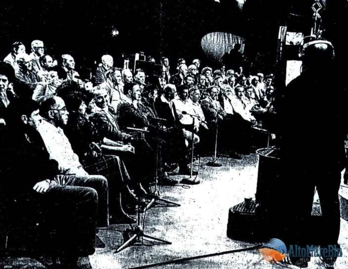 Sala studio televisione Israeliana