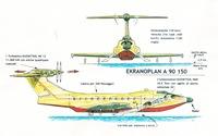Ekranoplan A 90 150