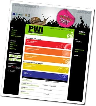 PWI - Premio Web Italia