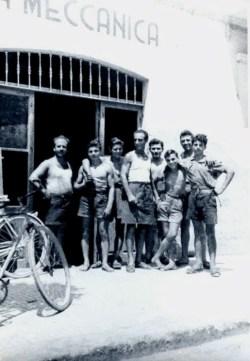 1948 Pierino apre officina, la meccanica ad Anzio di Pierino Gargana