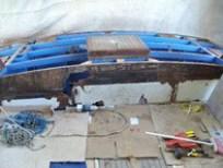 Demolizione ponte vano di poppa per restauro