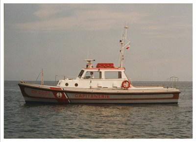 Storia delle Motovedette Capitaneria di Porto tipo Nelson CP 2001