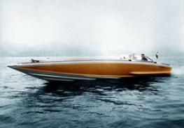 Barca Classica Barbarina cantiere Delta progetto Levi
