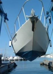 Barca Classica Exocetus di prua 043