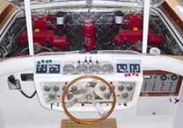 Barca Classica G.50 Posto di comando