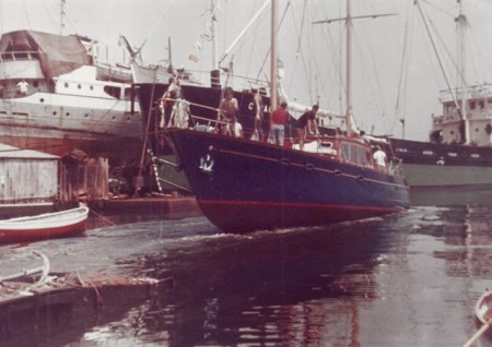 Motorsailer Berenice - 99 barche di Franco Harrauer