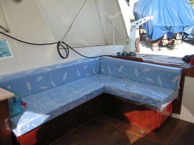Restauro barca classica Roar 35 la storia di un amore