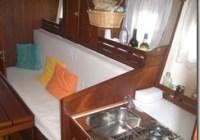 Roar 33 Sultano cabina principale cucinino e divano trasformabile in 2 posti letto