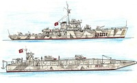 cacciasommergibili-tedesco-uj-227-ex-corvetta-italiana-persetone