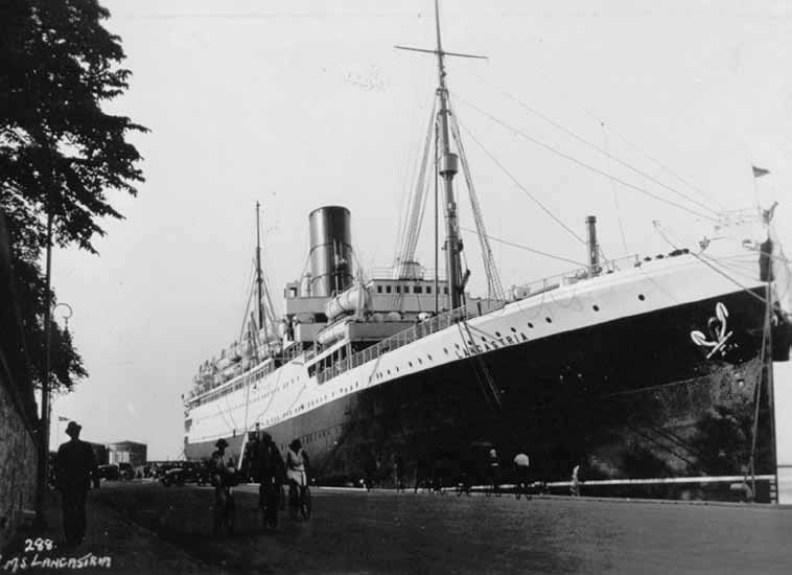 La nave Lancastria