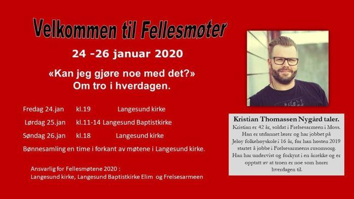 Fellesmøter i Langesund