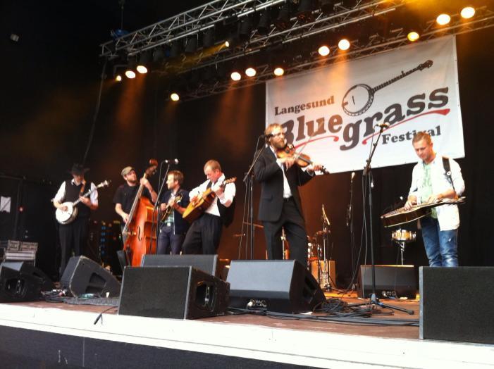 Langesund Bluegrassfestival 14.august 2021