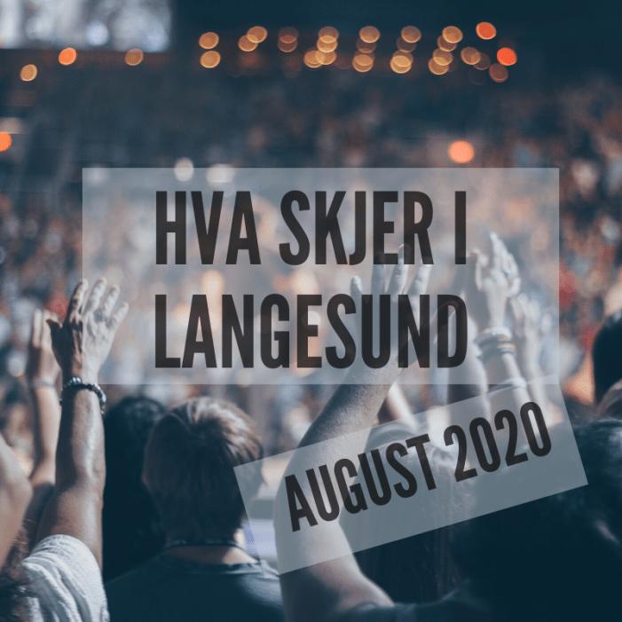 Hva skjer i Langesund august 2020