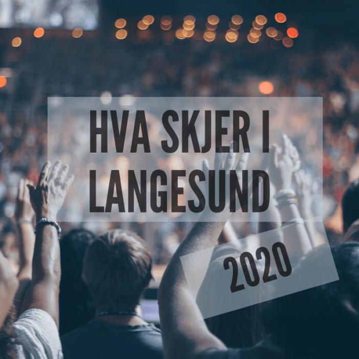 Hva skjer i Langesund 2020