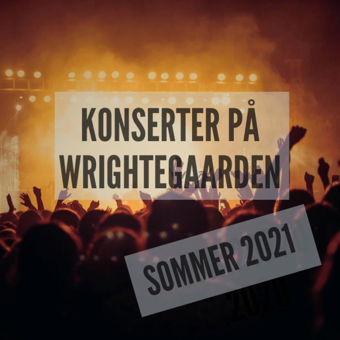 Konserter på Wrightegaarden Langesund 2021