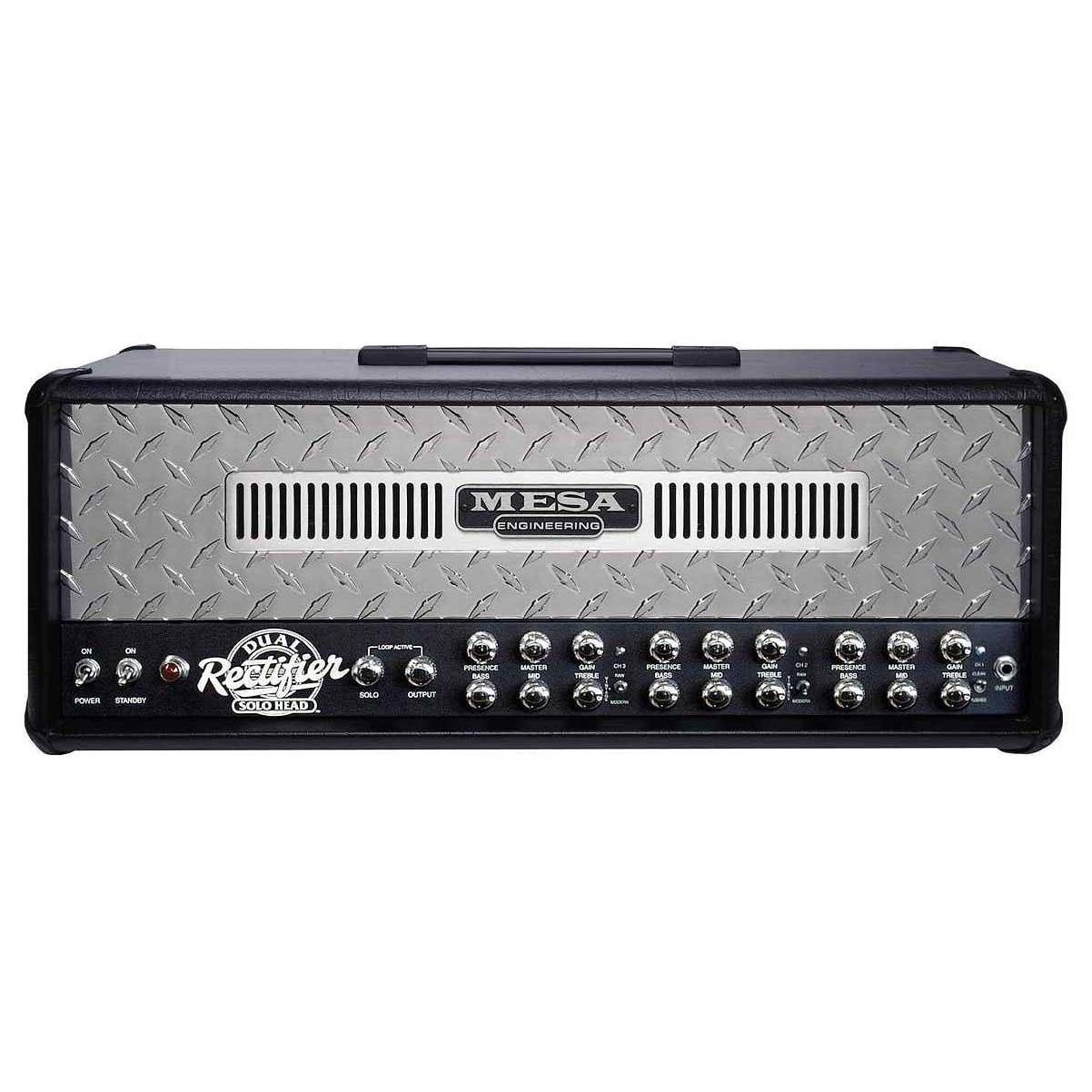 Mesa Boogie Dual Rectifier Head in Black  AltoMusiccom