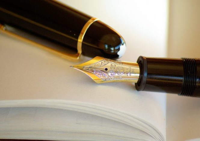 pen-fountain-pen-ink-gold-39065