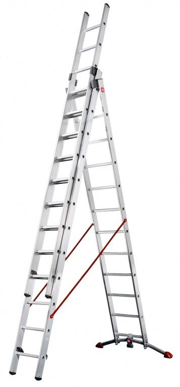 Hailo ProfiLOT Pedal Adjustment Combination Ladder to EN131